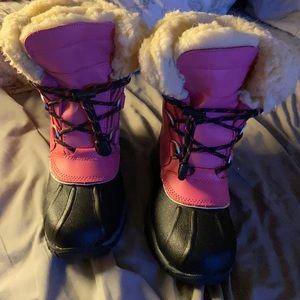Bear paw girls snow boots